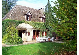 Holiday Cottage in Corberon, Cote d'Or, Burgundy, Central France