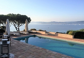 Holiday Villa in Gulf of St Tropez, Cote d'Azur, South Of France